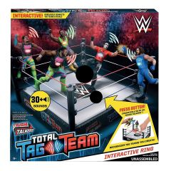 WWE Tough Talkers Tag Team Interactive Ring
