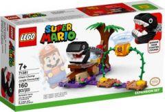 71381 Chain Chomp Jungle Encounter Expansion Set | LEGO Super Mario