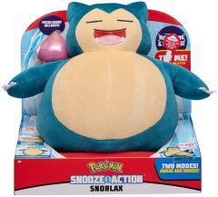 Snooze Action Snorlax Plush | Pokemon