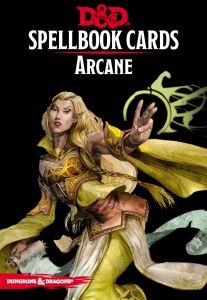 Arcane Spellbook Cards   Dungeons & Dragons   D&D