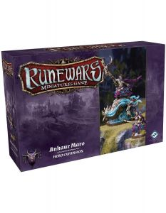 Ankoaur Maro Expansion Pack - Runewars Miniatures Game Undead Waiqar Hero