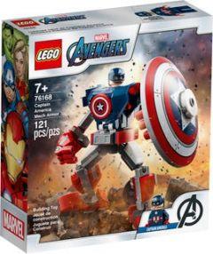 76168 Captain America Mech Armor   LEGO Marvel Avengers