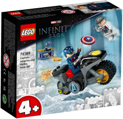 76189 Captain America and Hydra Face-Of | LEGO Marvel