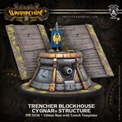 Trencher Blockhouse - Cygnar - Structure - Warmachine