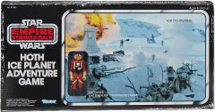 Star Wars Hoth Ice Planet Adventure Retro Board Game