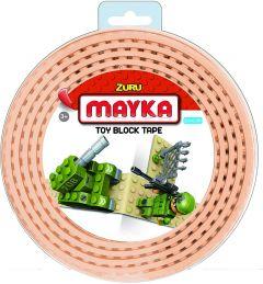 Beige 2 Stud Mayka Toy Block Tape