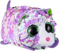 Lilac Cat | Flippable | Teeny TY | REG