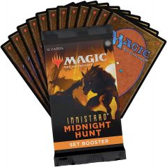 Innistrad Midnight Hunt Set Booster Pack   Magic: The Gathering   MTG