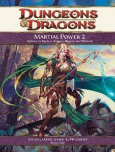 Martial Power 2 Sourcebook D&D Supplement Dungeons & Dragons Hardcover 4th ed