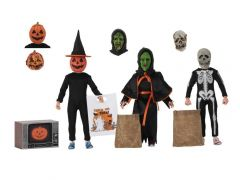 Halloween III: Season of the Witch NECA Silver Shamrock Trick-or-Treaters Three-Pack