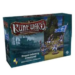 Daqan Infantry Command Expansion Pack: Runewars Miniatures Game