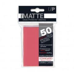 Pro Matte Fuchsia Sleeves | Standard Size | 50ct | Ultra Pro