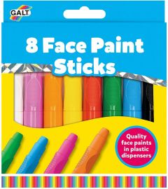 Young Art - Crayons - 8 Face Paint Sticks