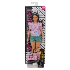 Barbie Floral Frills Fashionistas Doll