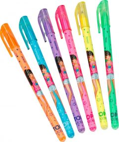 Neon Gel Pen Set (Christy) - Top Model