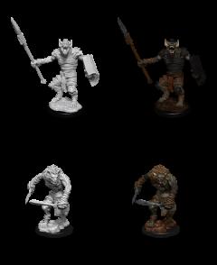 Gnoll & Gnoll Flesh Gnawer - Dungeons & Dragons Nolzur's Marvelous Miniatures - Wizkids