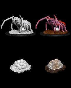 Giant Spider & Egg Clutch - Dungeons & Dragons Nolzur's Marvelous Miniatures - Wizkids