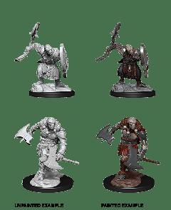 Warforged Barbarian | D&D Nolzur's Marvelous Unpainted Miniatures (W14) | Dungeons & Dragons