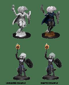 Changeling Cleric | D&D Nolzur's Marvelous Unpainted Miniatures (W14) | Dungeons & Dragons