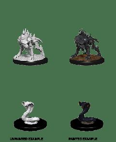 Iron Cobra & Iron Defender | D&D Nolzur's Marvelous Unpainted Miniatures (W14) | Dungeons & Dragons