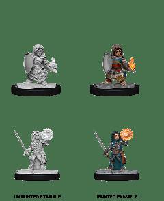 Halfling Cleric Female | Pathfinder Battles Deepcuts Unpainted Miniatures (W14)