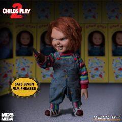 "Talking Menacing Chucky | Child's Play 2 | 15"" Doll | Mezco"
