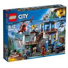 Mountain Police Headquarters - Lego City