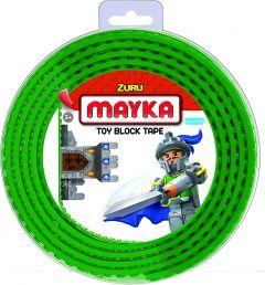 Green 2 Stud Mayka Toy Block Tape