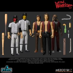 Warriors, The   5 Action Figure Pack   5 Points   Mezco