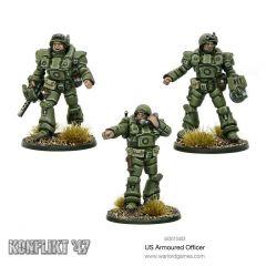U.S Armoured Officer - U.S - Konflikt 47 - Warlord Games