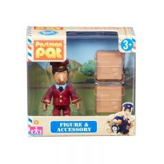 Ajay and 2 Parcels - Postman Pat Figure & Accessory