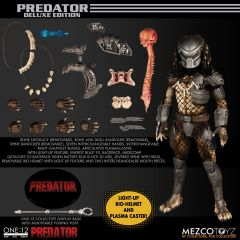 PRE-ORDER: Predator | Deluxe Edition | One:12 Collective Figure | Mezco