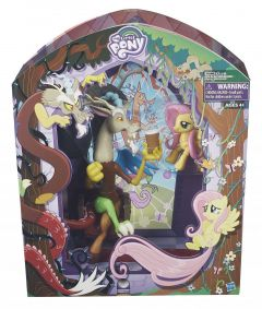 SDCC Discord and Fluttershy  My Little Pony Exclusive Set