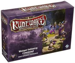 Waiqar Infantry Command Expansion Pack: Runewars Miniatures Game