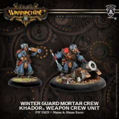 Winterguard Mortar Weapon Crew - Khador - Unit - Warmachine