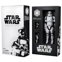 "SDCC Exclusive First Order Stormtrooper - Star Wars Black Series 6"" Action Figure"