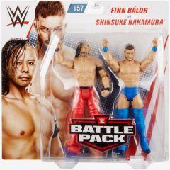 Shinsuke Nakamura vs Finn Balor - Battle Pack 57 - WWE Action Figure