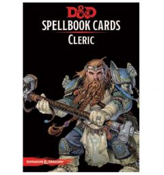 Dungeons and Dragons Cleric Spell Deck - Version 3 - Gale Force Nine