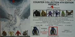 Counter Collection 4th Edition HEROIC 3 - Fiery Dragon