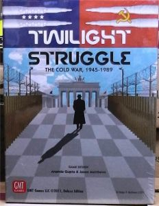 Twilight Struggle - The Cold War 1945-1989 NEW Deluxe Edition GMT