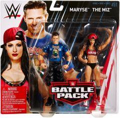 The Miz & Maryse - Battle Pack #51  - WWE Action Figure