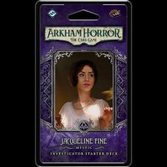 Jacqueline Fine Investigator Starter Deck   Arkham Horror LCG