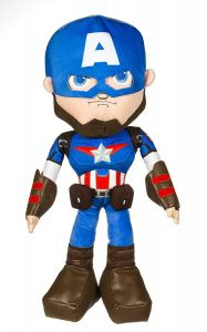 "22"" Captain America Plush - Marvel Action - Posh Paws"