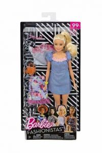 Blue Denim Dress - Barbie Fashionistas Gift Set - 99