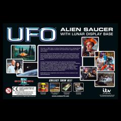 Alien Saucer with Lunar Display Base   UFO