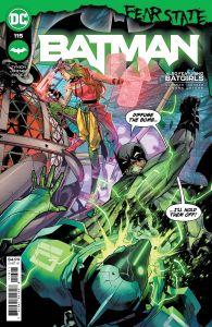 BATMAN #115 COVER A JORGE JIMENEZ