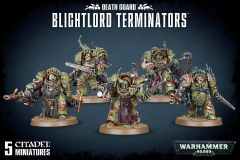 Blightlord Terminators | Death Guard | Warhammer 40,000