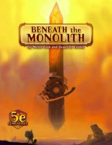 Numenera: Beneath the Monolith