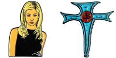 Buffy the Vampire Slayer Ripple Junction Officially Licensed Enamel Pins