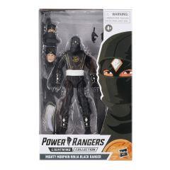 PRE-ORDER: Mighty Morphin Ninja Black Ranger   Power Rangers Lightning Collection Action Figure